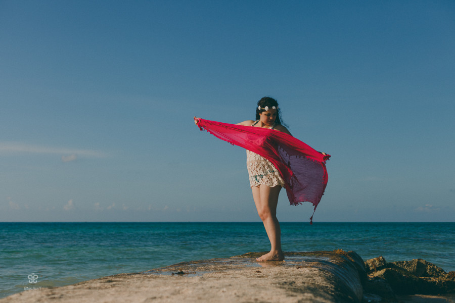 Danae |maternity session | Playa del Carmen