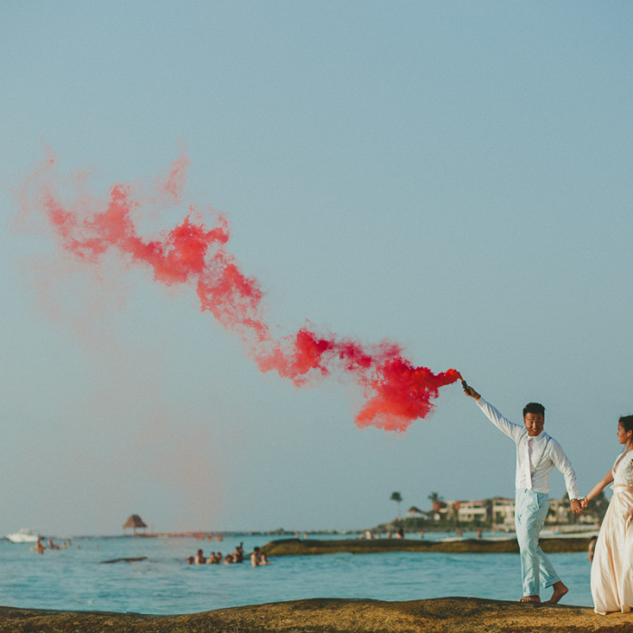 Adrienne + Jonathan | Day after session | Isla Mujeres Photographer