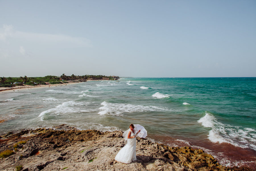 Playa del Carmen Wedding Pictures | Olivia + Rafa