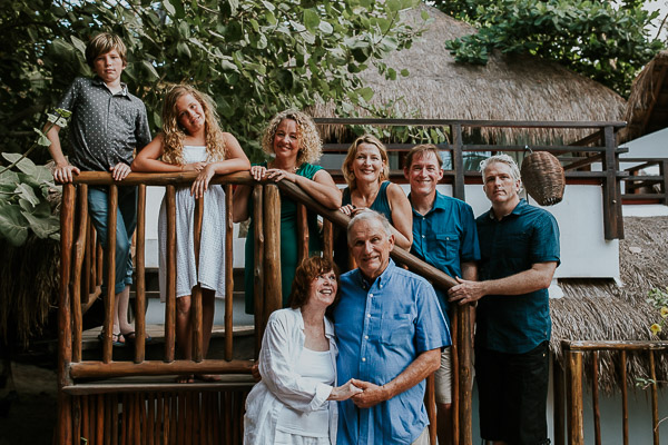 Tulum Family Photographer |50th wedding anniversary