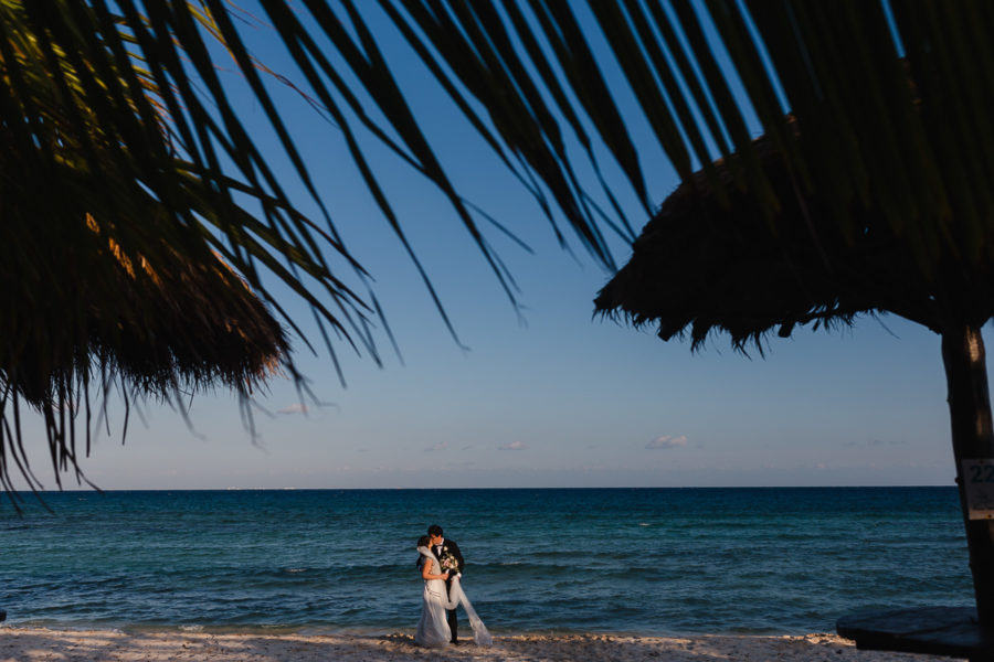 Playa del Carmen Wedding Photography | Kelsey + Nick at Blue Venado